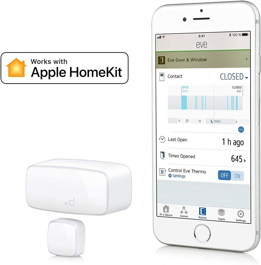 sensor de puerta wifi apple homekit